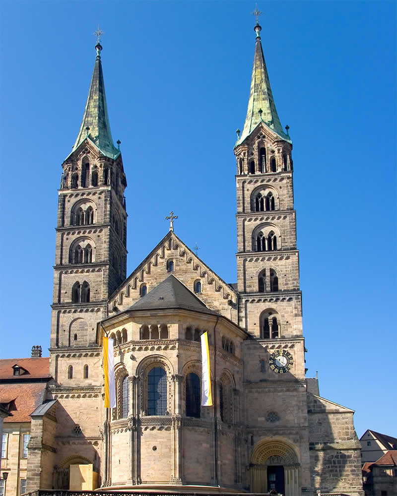 Bamberg's cathedral.